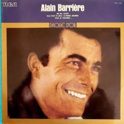 Alain Barrière – Disque D'Or