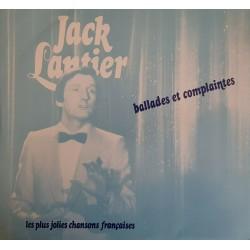 JACK LANTIER BALLADES ET...