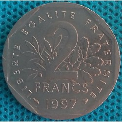 PIÈCE MONNAIE 2 FRANCS 1997...