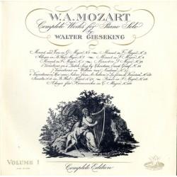 W. A. Mozart Walter...