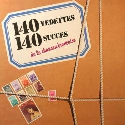 140 Vedettes 140 Succès De...