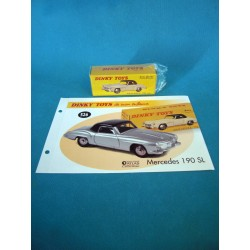 DINKY TOYS MERCEDES 190 S.L...